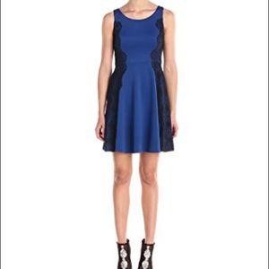 Jessica Simpson Scuba Fit and Flare dress!